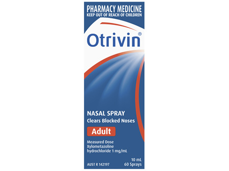 Otrivin Adult Nasal Spray, for Blocked Nose, 10mL