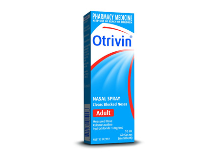 Otrivin F5 Adult Nasal Spray 10ml
