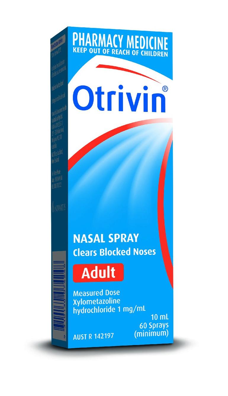 Otrivin F5 Adult Nasal Spray 10ml