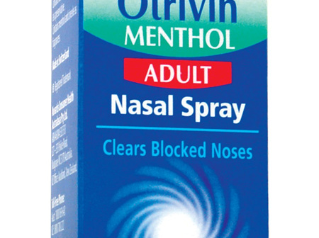 Otrivin F5 Menthol Spray 10ml