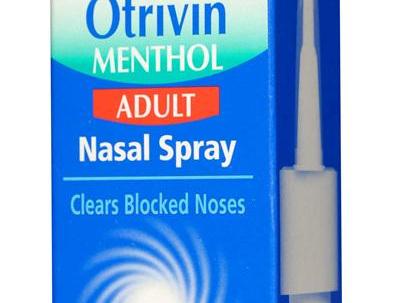 Otrivin F5 Menthol Spray 10ml