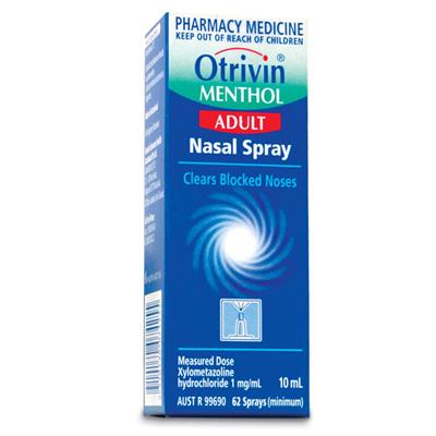 Otrivin Menthol Spray 10ml