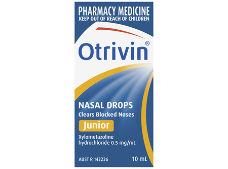 Otrivin Nasal Drops Junior 10mL
