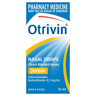Otrivin Nasal Drops Junior 10mL