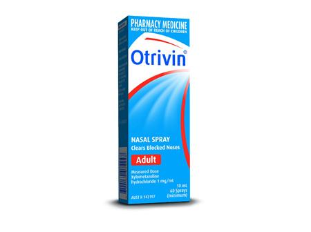Otrivin Nasal Spray Adult 10ml