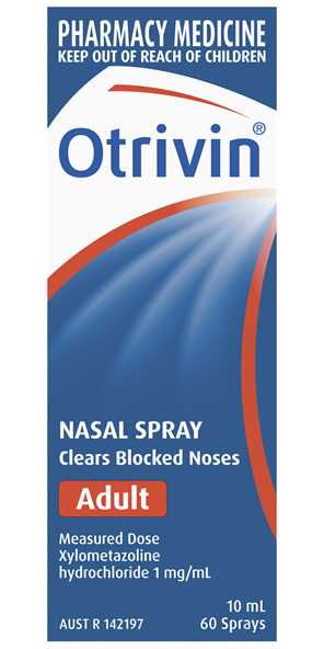 Otrivin Nasal Spray Adult 10mL