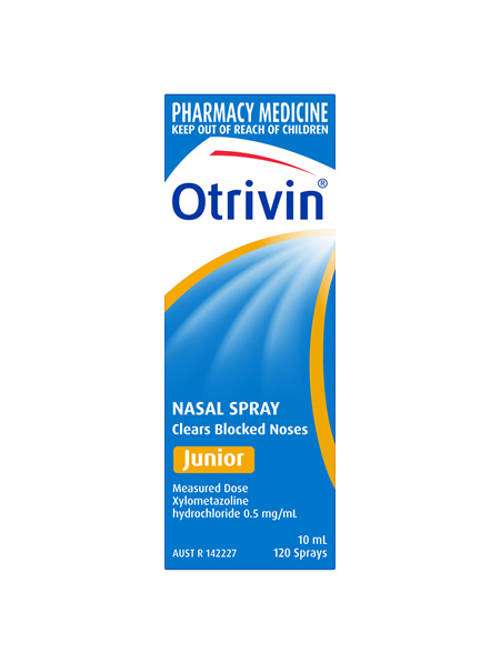 Otrivin Nasal Spray Junior 10mL