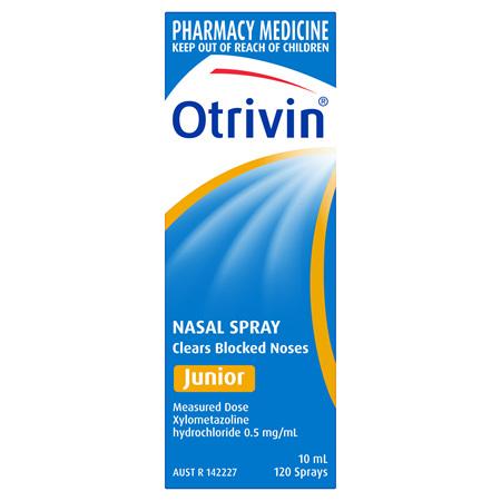 Otrivin Nasal Spray Junior 10mL