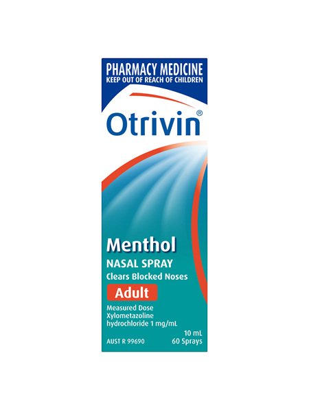Otrivin Nasal Spray Menthol Adult 10mL