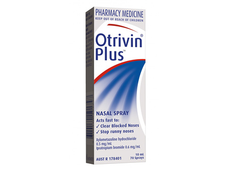 Otrivin Plus 10ml
