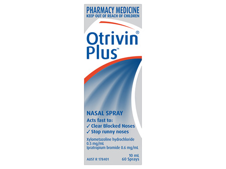Otrivin Plus Nasal Spray 10mL