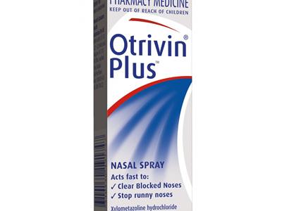 Otrivin Plus Nasal Spray 10ml