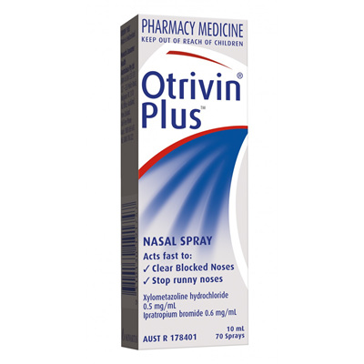 Otrivin Plus Nasal Spray - 10mL