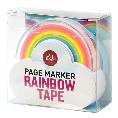 Page Marker Rainbow Tape