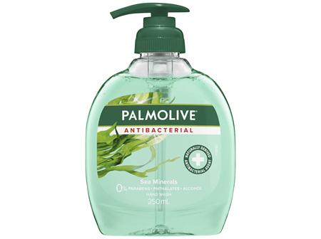 Palmolive Antibacterial Liquid Hand Wash Soap Sea Minerals Deep Cleansing Pump 0% Parabens