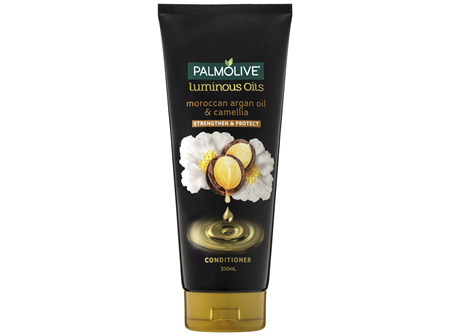 Palmolive Luminous Oils Hair Conditioner Moroccan Argan Oil & Camellia Strengthen & Protect 350mL