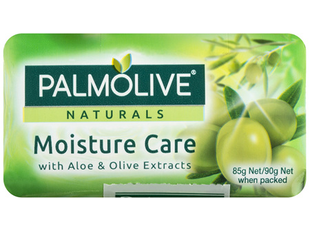 Palmolive Naturals Bar Soap Moisture Care Aloe & Olive Extracts 4 x 90g