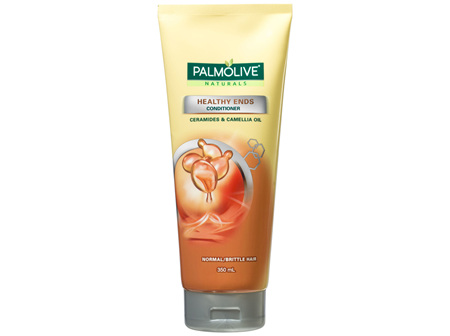 Palmolive Naturals Hair Conditioner Healthy Ends Ceramides & Camellia Oil for Normal/Brittle Hair