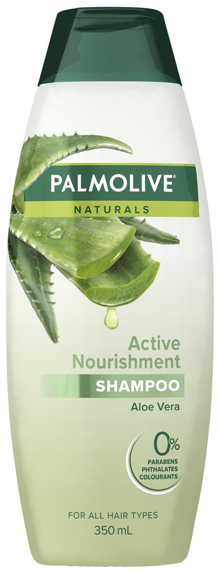 Palmolive Naturals Hair Shampoo Active Nourishment Aloe Vera 350mL