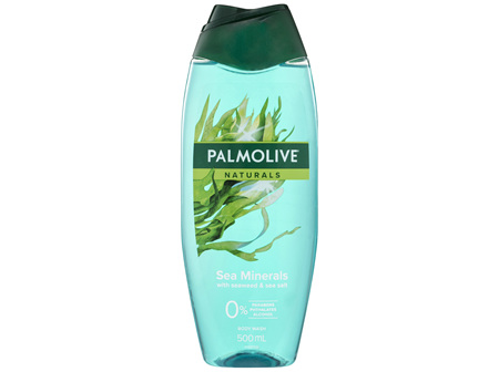 Palmolive Naturals Hydrating Sea Minerals Body Wash Sea Minerals with Seaweed and Sea Salt 500mL