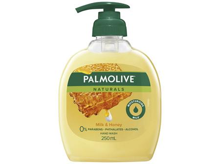 Palmolive Naturals Liquid Hand Wash Soap Nourishing Milk & Honey Pump 0% Parabens Recyclable 250mL