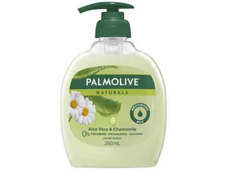 Palmolive Naturals Liquid Hand Wash Soap Softening Aloe Vera & Chamomile Pump 0% Parabens