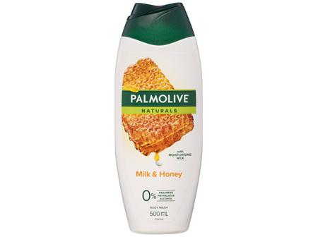 Palmolive Naturals Milk & Honey Body Wash with Moisturising Milk 0% Parabens Recyclable 500mL