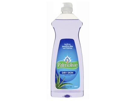 Palmolive Regular Dishwashing Liquid for Dry Sensitive Skin with Aloe Low Fragrance 500mL