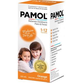 PAMOL All Ages Orange C/F 100ml