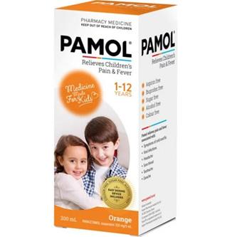 PAMOL All Ages Orange C/F 200ml