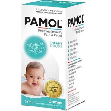 PAMOL Infant Drops C/F 60ml