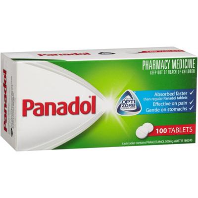 Panadol 500mg tabs (100)