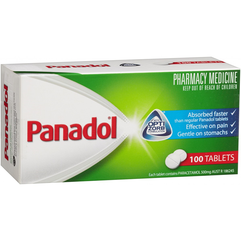 Panadol Analgesic Tablets 100