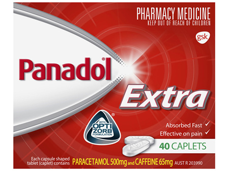 Panadol Extra 40 Caplets