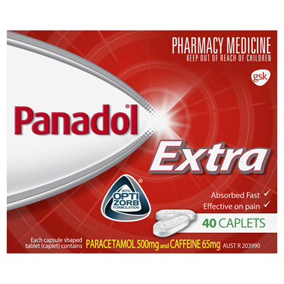 Panadol Extra Caplet 40s