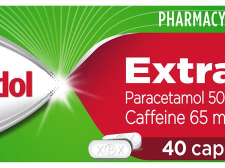 Panadol Extra with Optizorb, Paracetamol Pain Relief Caplets, 40