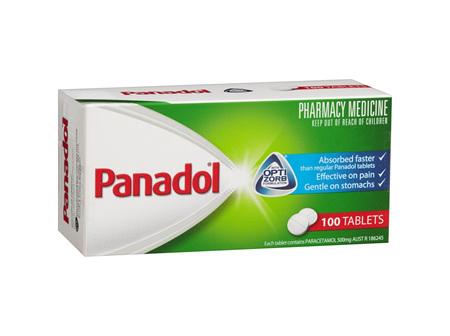 Panadol Optizorb Fast Acting Caplets 100