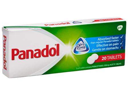 Panadol Optizorb Tablet 20s