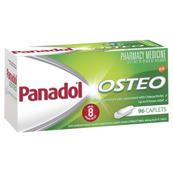 Panadol Osteo Caplet 96s