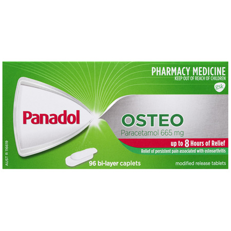 Panadol Osteo Caplets 96 Pack