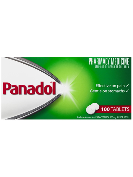 Panadol Pain Relief Tablets 100