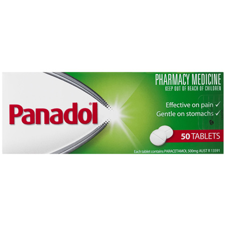 Panadol Pain Relief Tablets 50