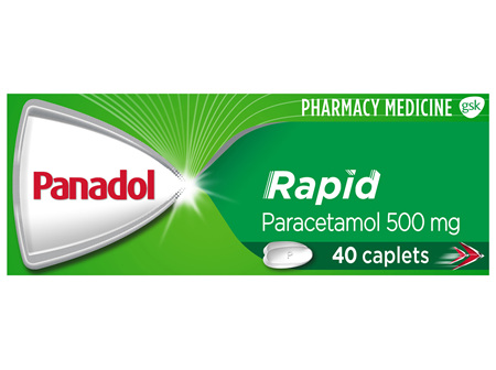 Panadol Rapid 40 Caplets
