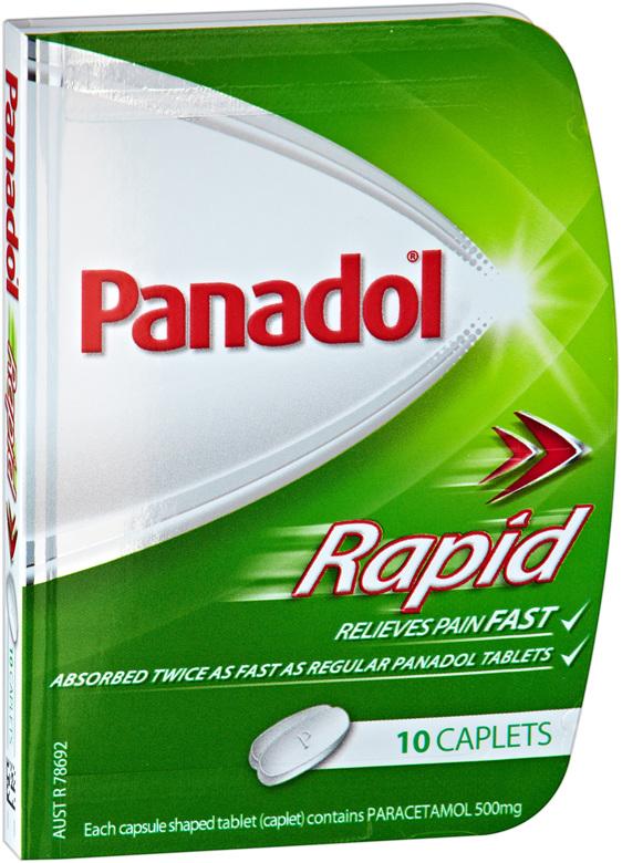 Panadol Rapid Caplet 10s
