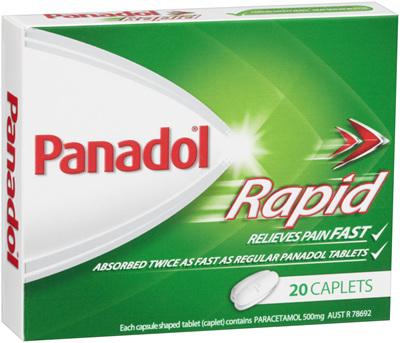 Panadol Rapid Caplet 20s