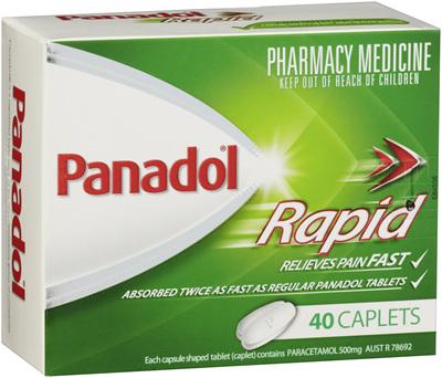 Panadol Rapid Caplet 40s