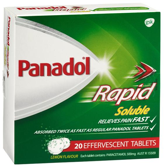 Panadol Rapid Soluble Tablet 20s