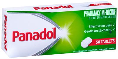 Panadol Tablet 50s