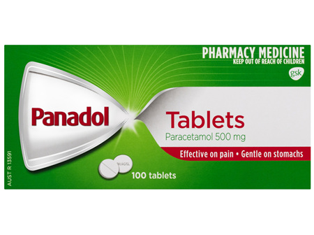 Panadol Tablets 100 Pack