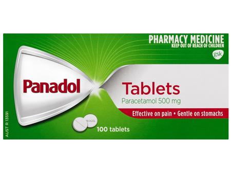 Panadol Tablets 100 Pack